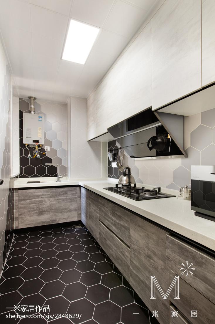 2018小户型厨房北欧设计效果图