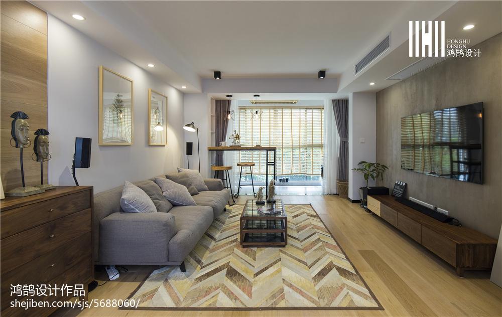家居北欧风格客厅设计效果图