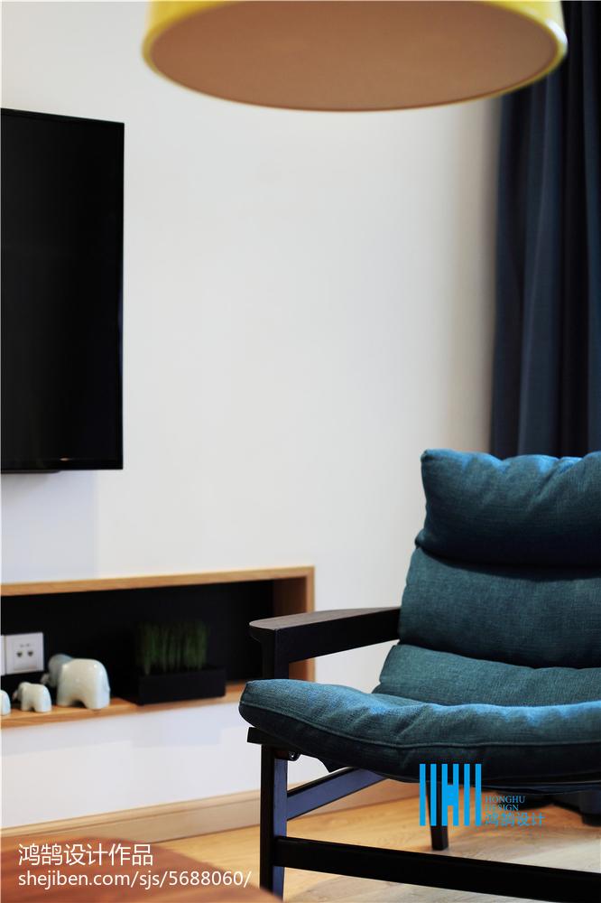 精美面积138平复式客厅北欧实景图片欣赏