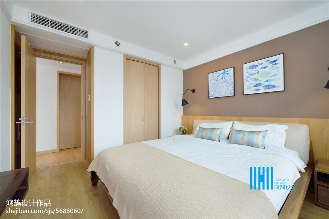 精美126平米北欧复式卧室装饰图