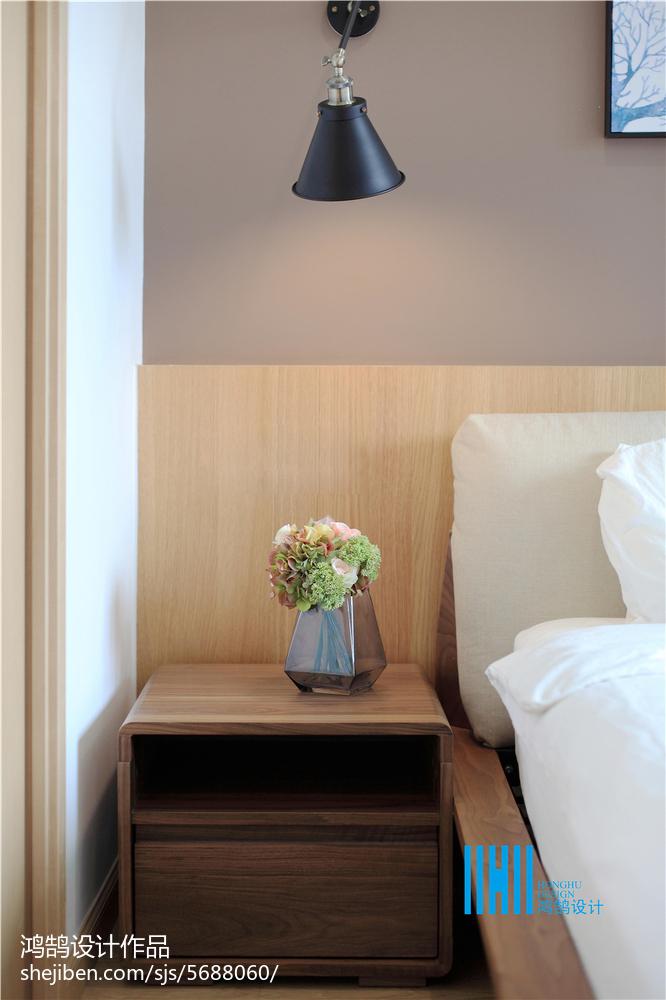 面积126平复式卧室北欧装修设计效果图片欣赏