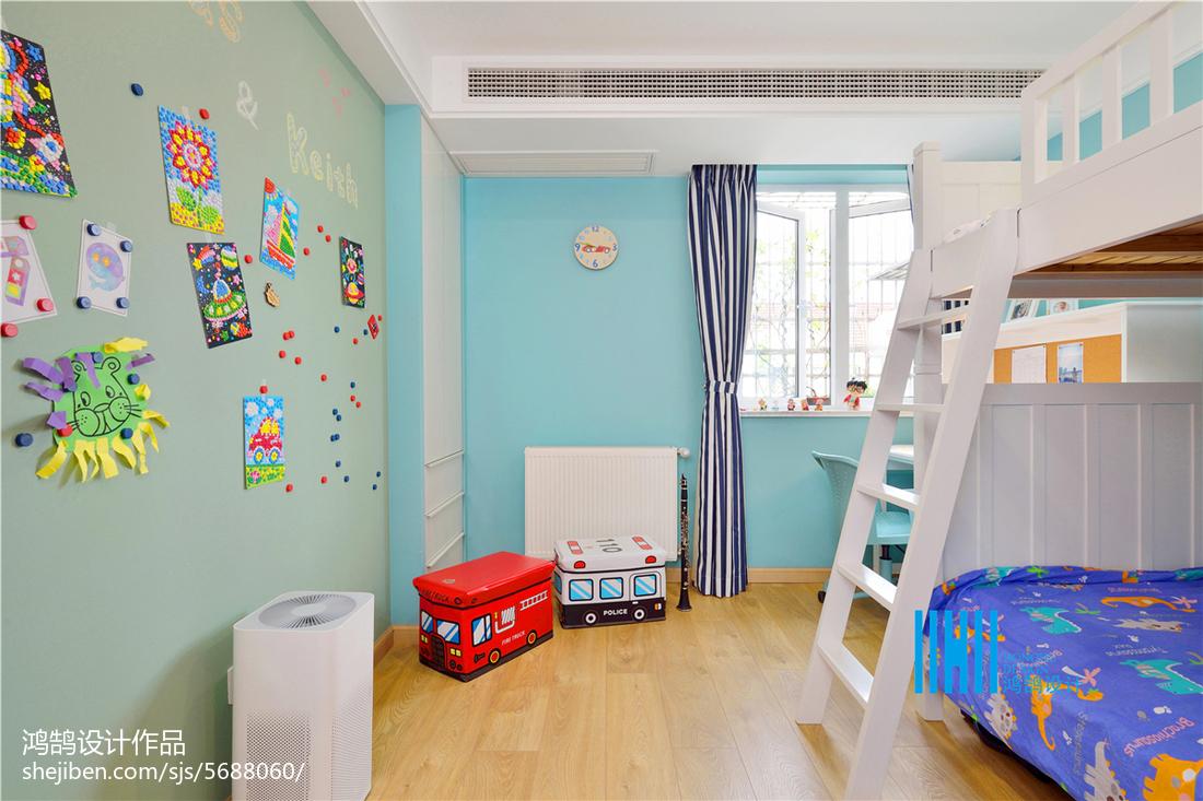 精美北欧复式儿童房效果图