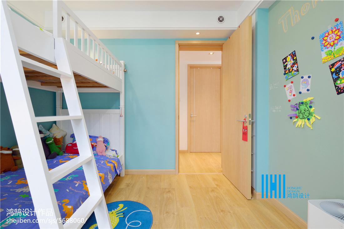 精美复式儿童房北欧装修图片大全