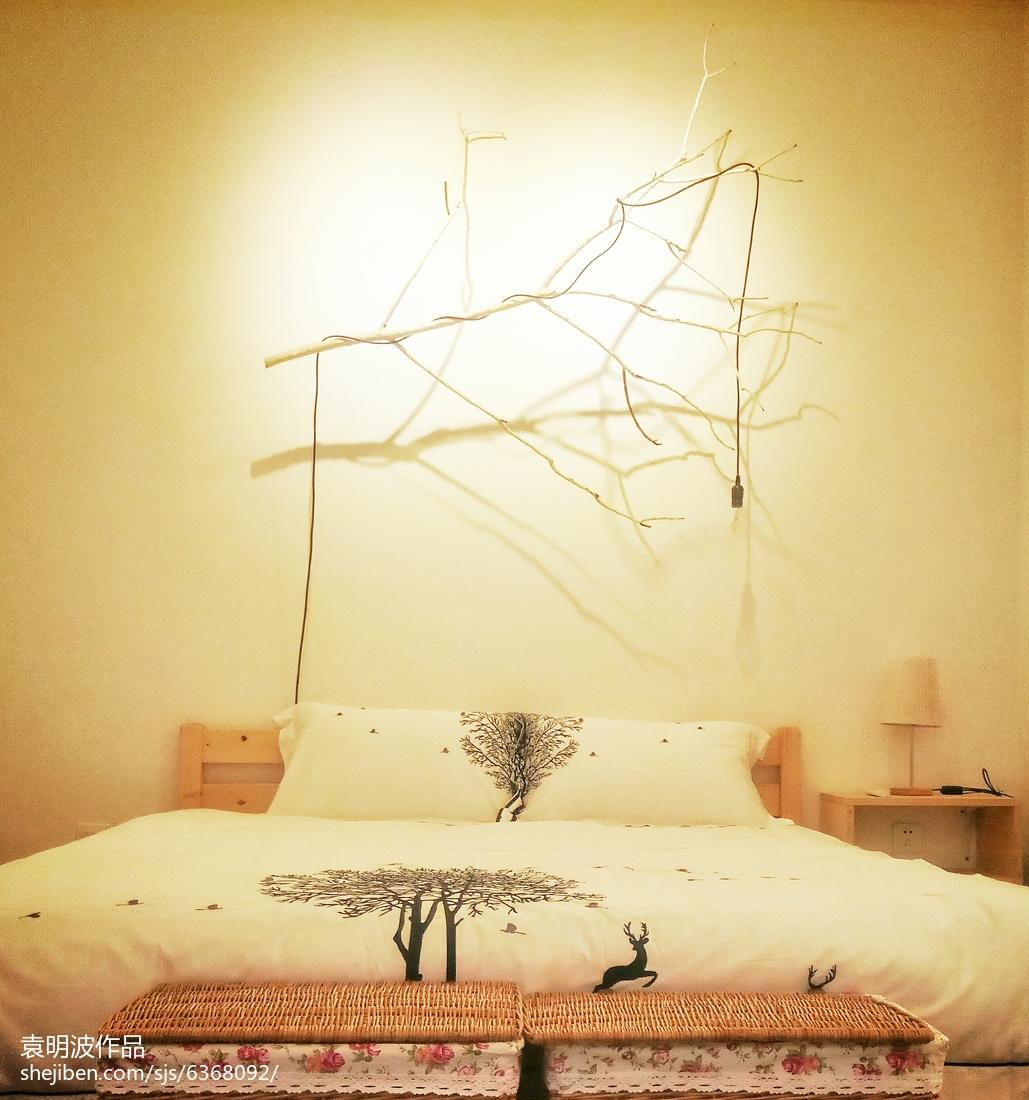 精选田园复式卧室装修实景图