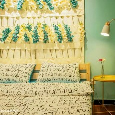 精选田园复式卧室装修效果图