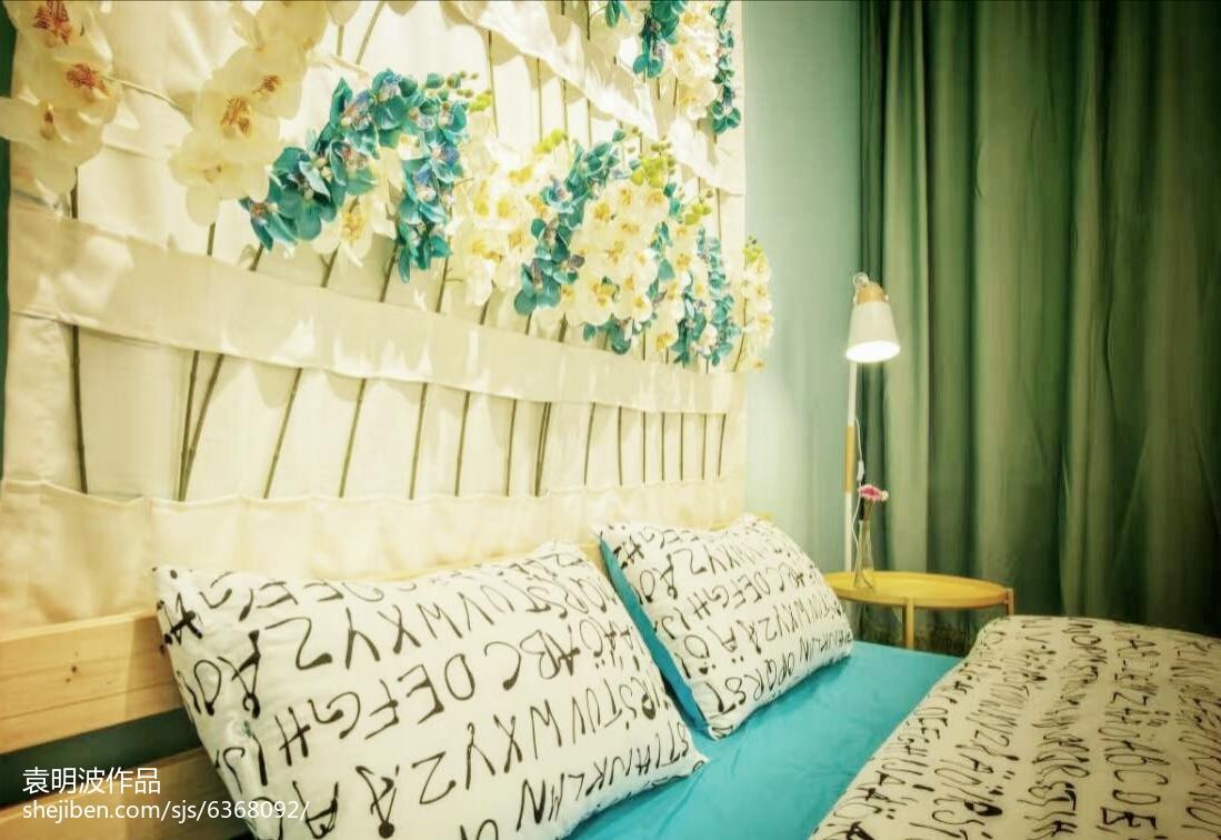 热门田园复式卧室装修设计效果图片