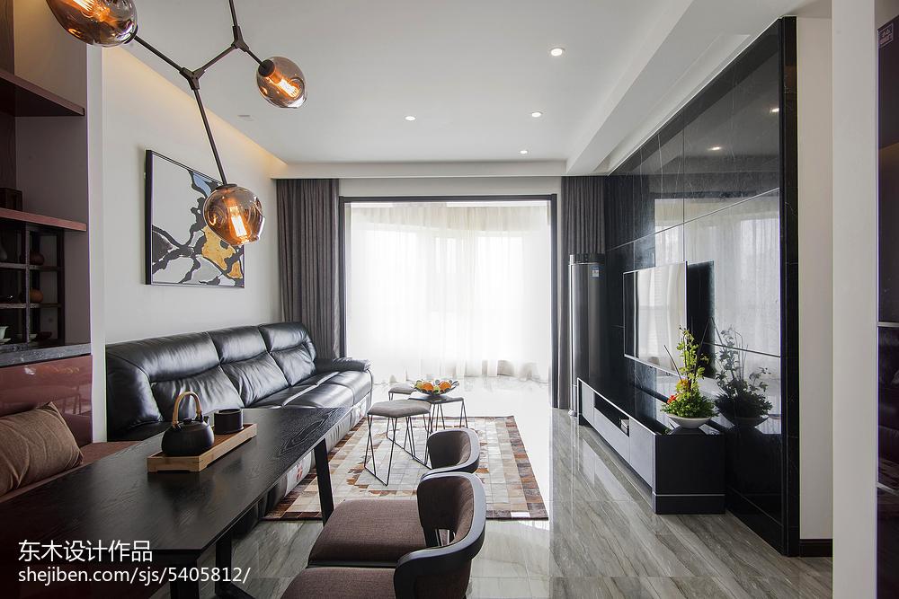 精美大小77平现代二居客厅效果图片欣赏