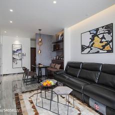 精美72平米二居客厅现代装修图片大全