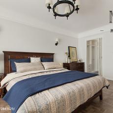热门面积106平美式三居卧室实景图片大全
