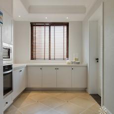 精美面积98平美式三居厨房装饰图片