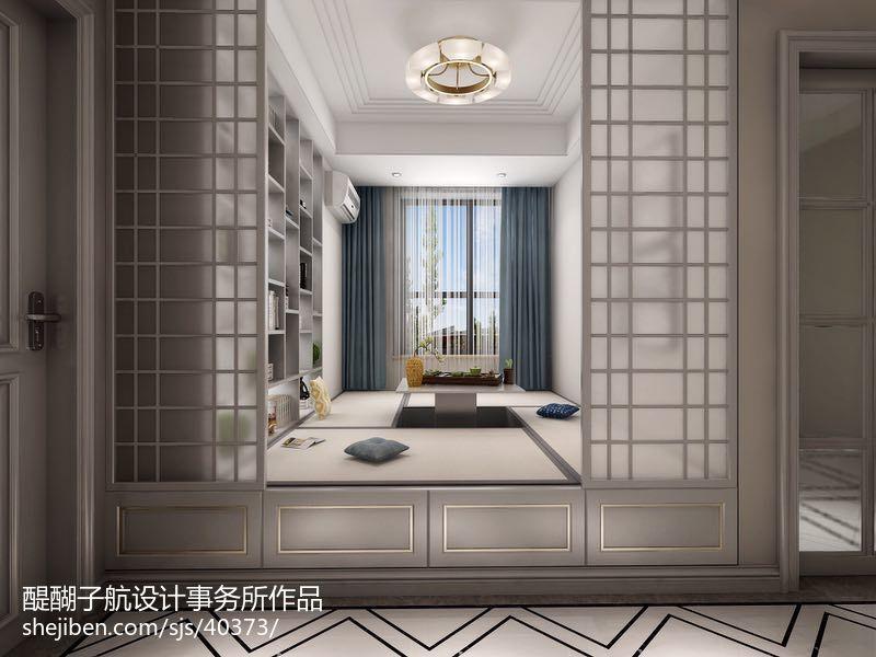 花语美式复古卫生间设计