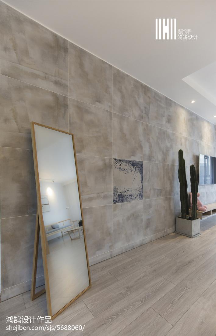 2018精选93平米三居客厅简欧装修欣赏图片大全