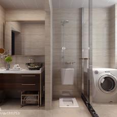 精选二居卫生间现代装修设计效果图片大全