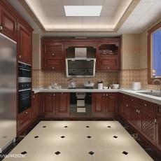 欧式三居厨房装修实景图片