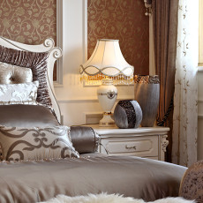 精选111平方欧式别墅卧室装修欣赏图片大全