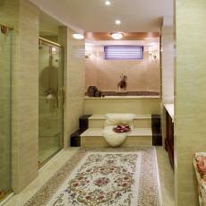 精选123平米欧式别墅卫生间设计效果图