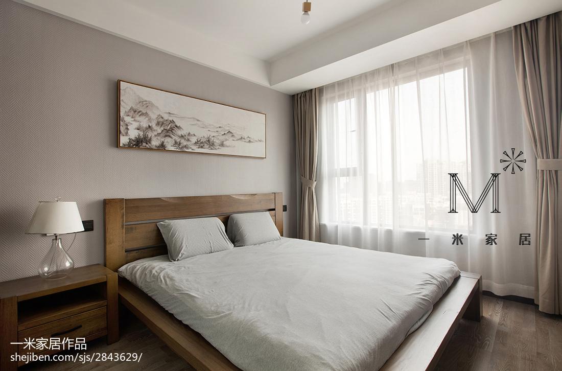 精美大小75平现代二居卧室装饰图片欣赏