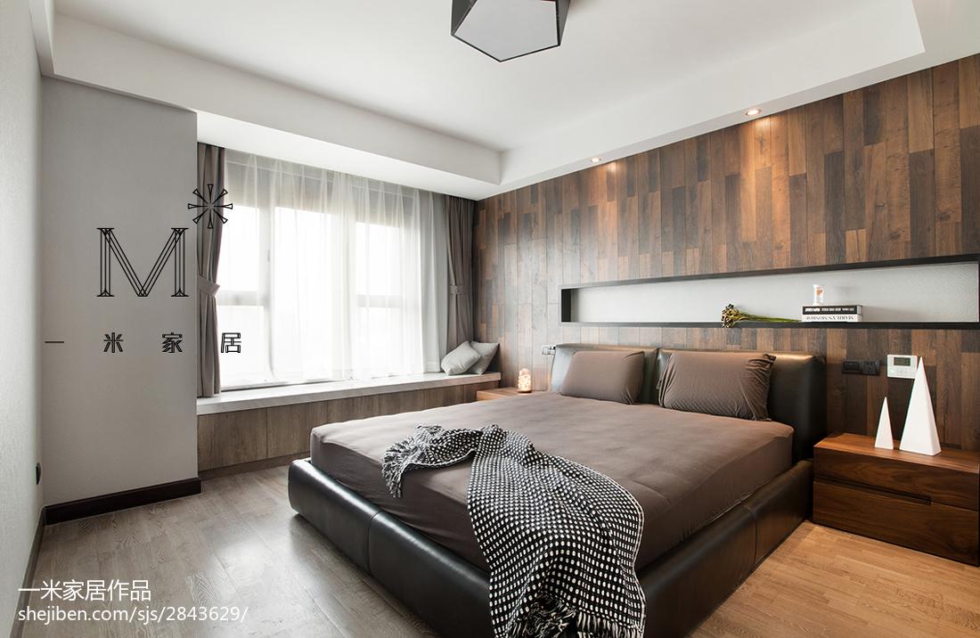 沉稳现代风格卧室设计