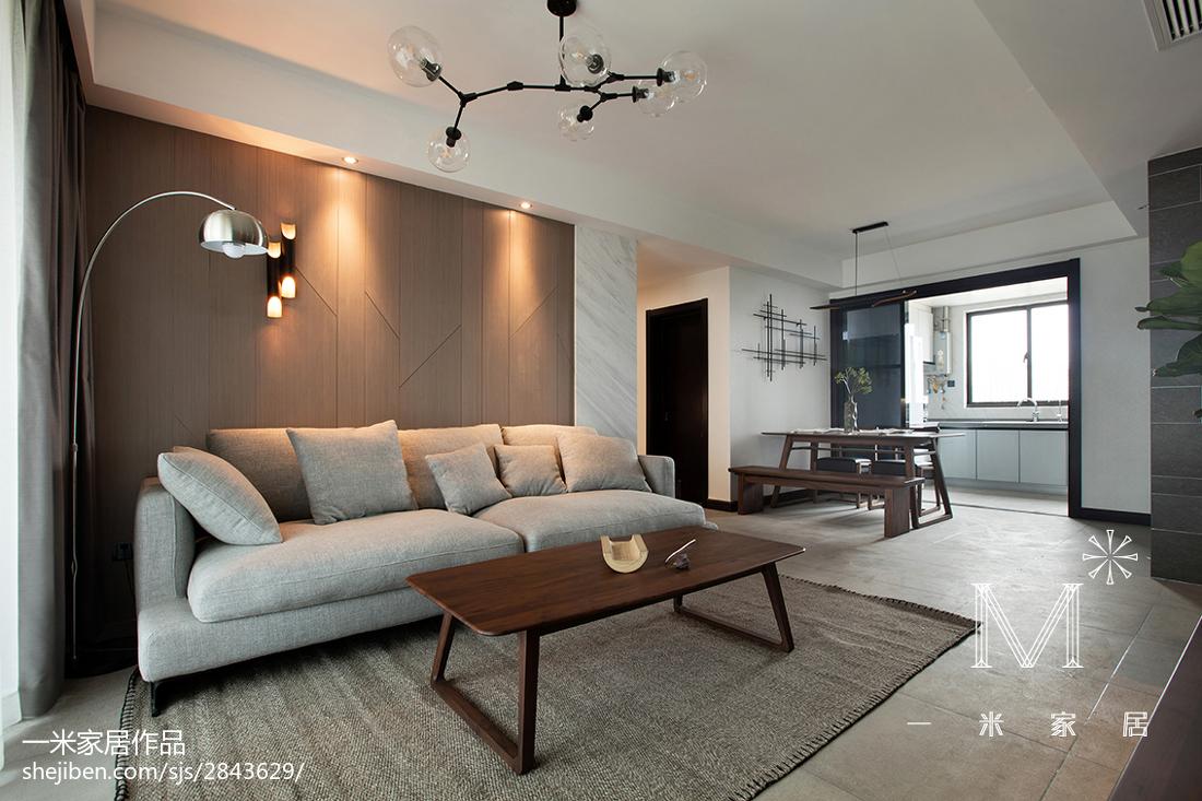 精选71平米二居客厅现代装修欣赏图