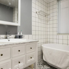 时尚现代风格家居卫浴装饰图