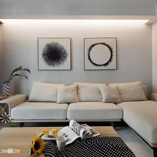 精美91平客厅三居现代效果图片