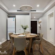 2018精选105平米三居餐厅现代效果图片大全