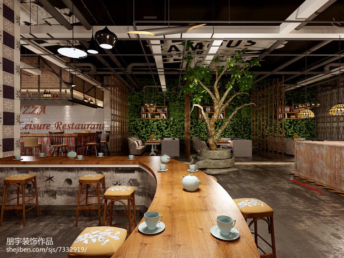 现代居家餐厅效果图