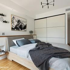 精选大小90平现代三居卧室装修欣赏图片大全