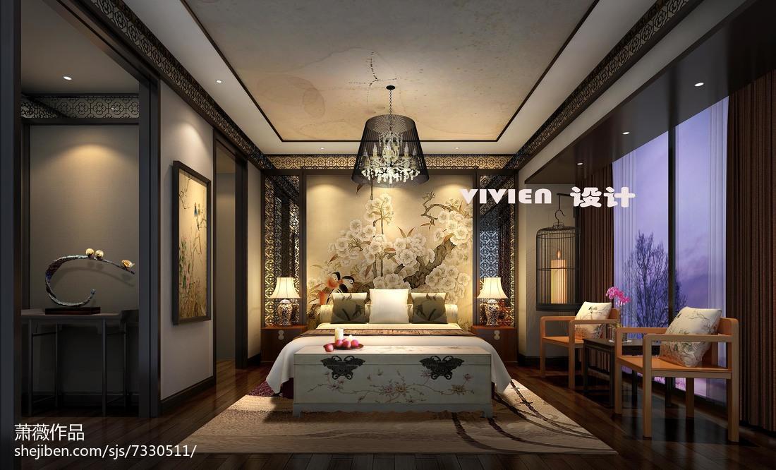 时尚创意休闲的卧室装修效果图