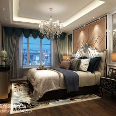 精选83平米二居卧室欧式装饰图