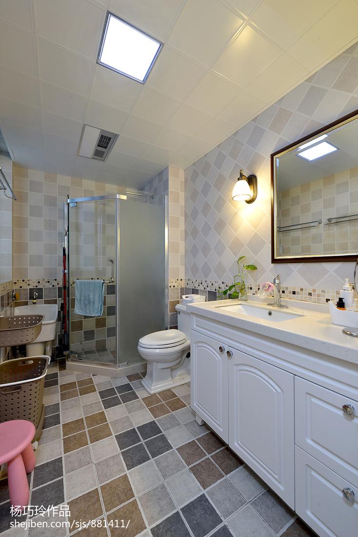 美式风格雅致卫浴设计