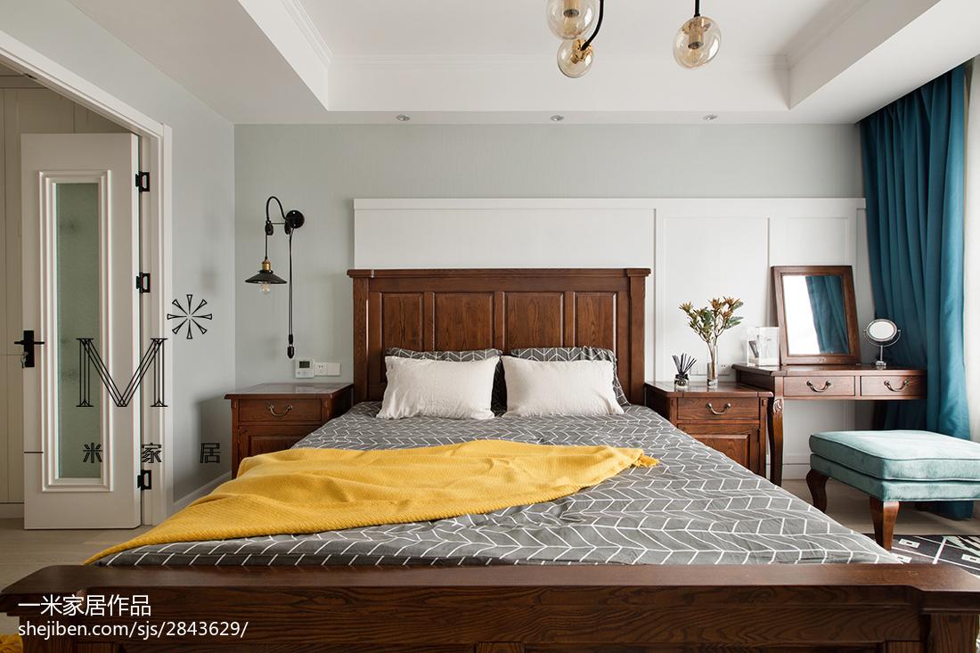 精美105平美式三居装修图