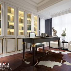 103平米三居书房简约装修设计效果图