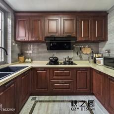 家居中式风格三居室厨房设计