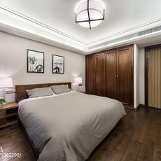 精美104平米三居卧室中式装修设计效果图片
