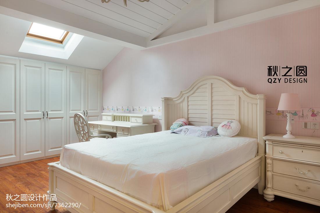 精选别墅儿童房美式装修设计效果图片欣赏