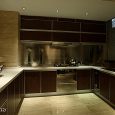 热门现代三居厨房装修效果图片欣赏