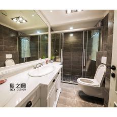 家居美式风格卫浴设计效果图