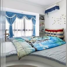 热门地中海二居卧室实景图片