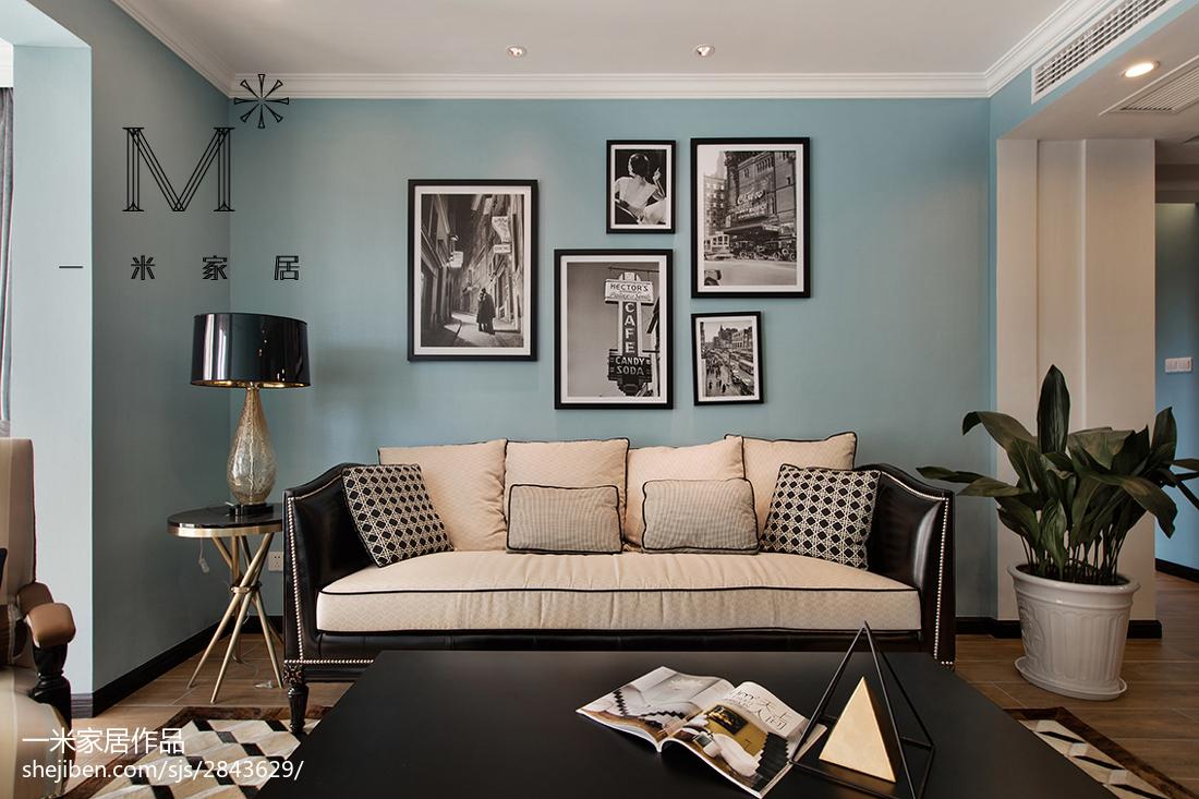 精美面积89平现代二居客厅装修实景图片欣赏
