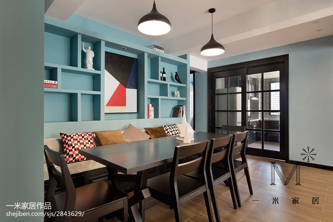 精美面积88平现代二居餐厅装修实景图片