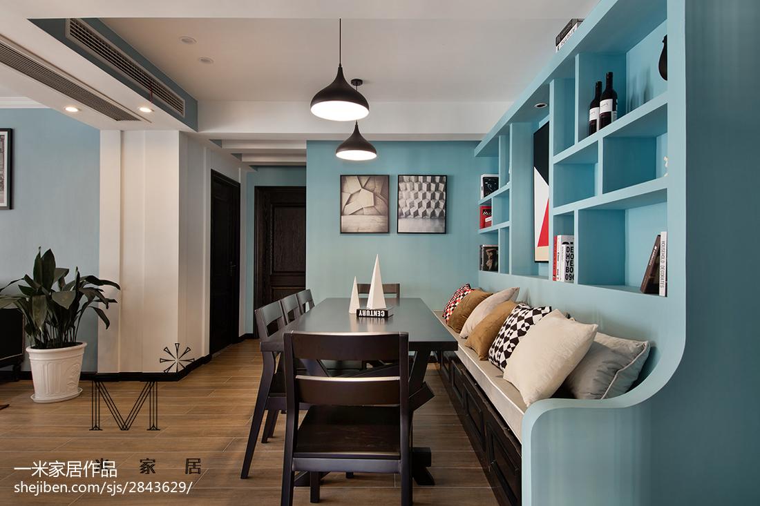 2018精选70平米二居餐厅现代设计效果图