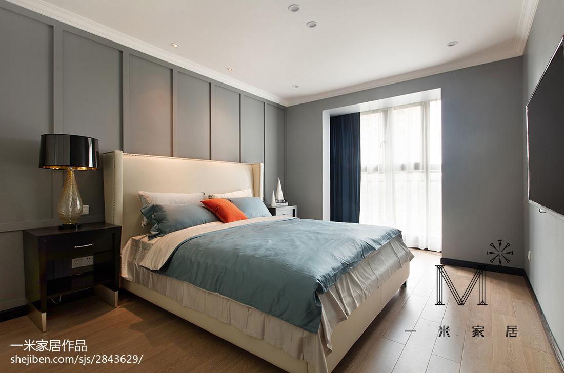 热门大小78平现代二居卧室欣赏图片
