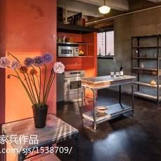 三居厨房现代欣赏图