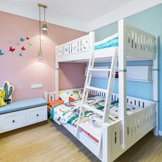 精选面积102平简约三居儿童房实景图片大全