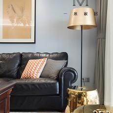 2018127平方四居客厅美式装修设计效果图片