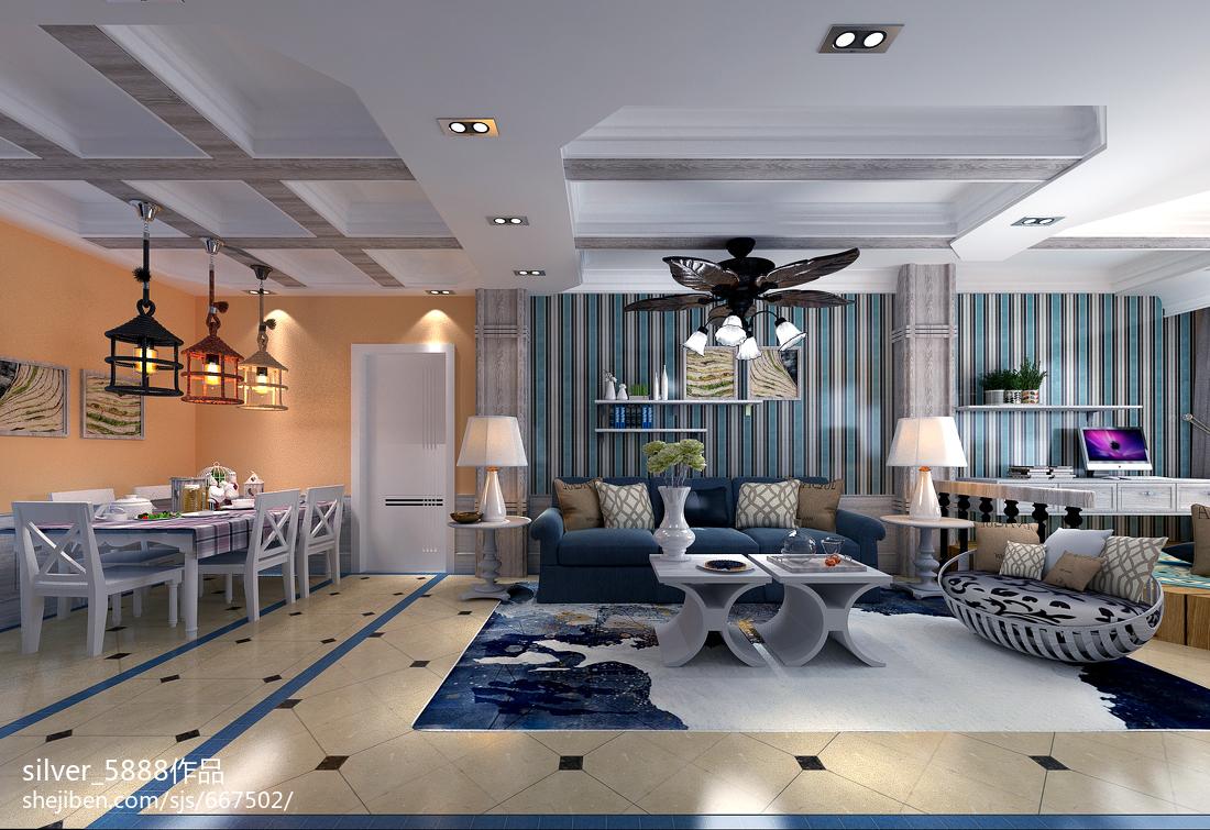 亮色调现代风格卧室装修效果图