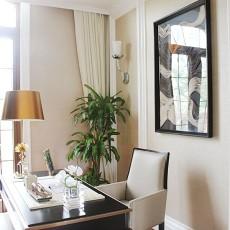 精选美式别墅书房装修实景图片欣赏