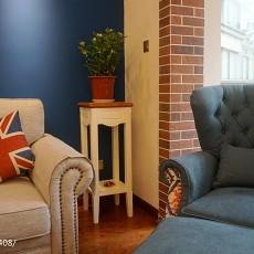 精选80平米二居客厅美式实景图片
