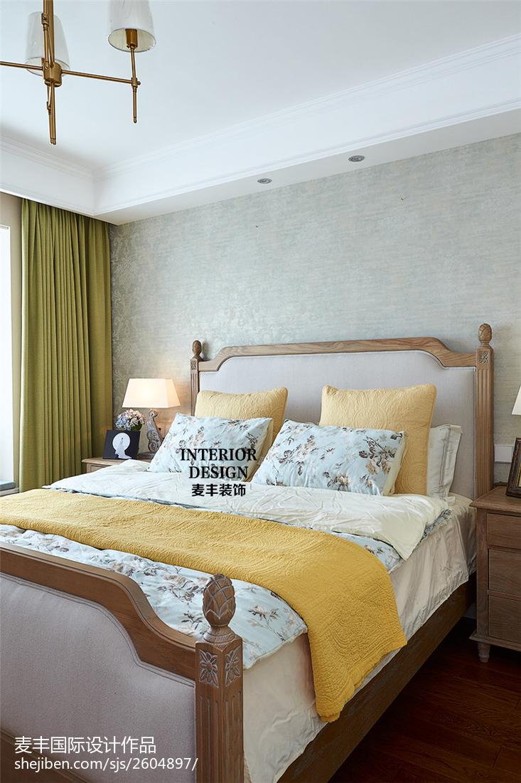 雅致美式风格卧室设计